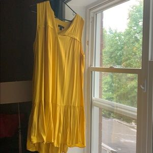 J crew yellow dress